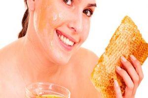 Mascarillas para la cara con miel