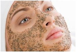 Máscara facial de cúrcuma