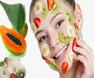 mascarilla para aclarar la piel del rostro
