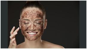 exfoliante de cafe para el acne