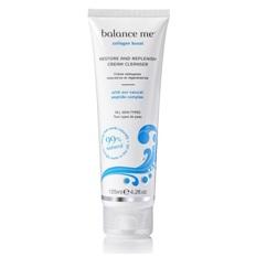 • Balance me–Crema limpiadora que restaura y repone el cutis