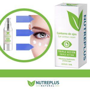 antibolsas ojos efectivo. contorno de ojos nutreplus