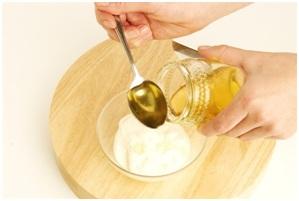 mascarilla de yogurt y miel para la piel irritada y reseca