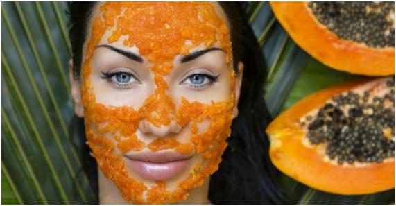 mascarilla de papaya para el acne
