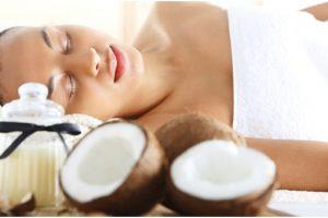 mascarillas con aceite de coco para el acne