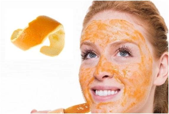 cascara de naranja para el acne