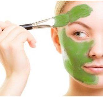 mascarilla de te verde para el acne
