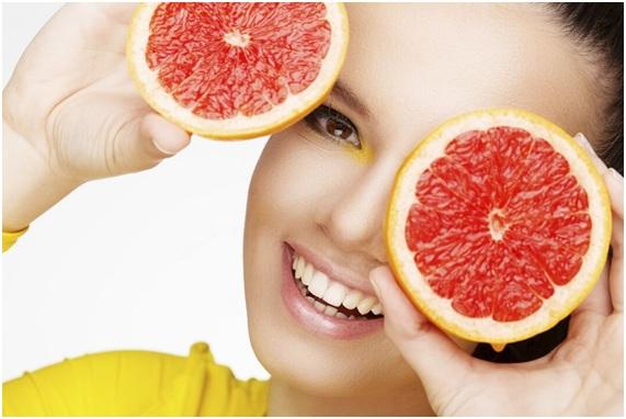 mascarilla de toronja para el acne